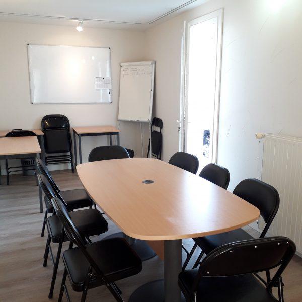 Salle de réunion ou espace de coworking